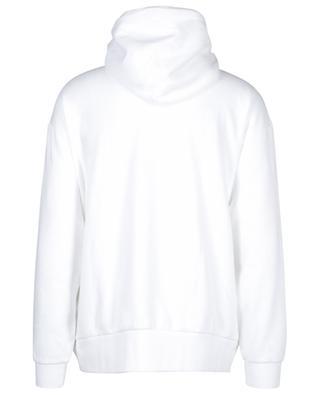 Pull à capuche en coton mélangé logo imprimé POLO RALPH LAUREN
