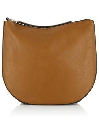 Petra Mini grained leather saddle bag GIANNI CHIARINI