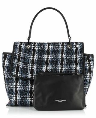 Handtasche aus kariertem Tweed Elettra GIANNI CHIARINI