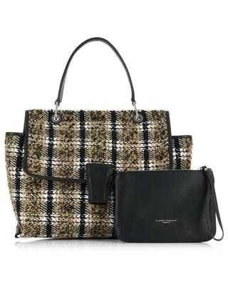 Elettra checked tweed handbag GIANNI CHIARINI