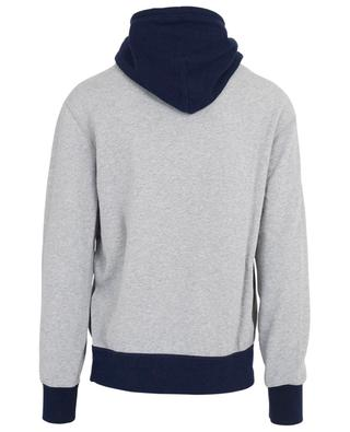 Cotton hoodie with bear embroidery RALPH LAUREN