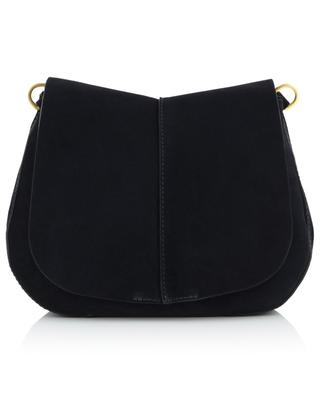 Helena Medium suede shoulder bag GIANNI CHIARINI