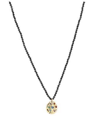 Collier en pierres avec pendentif MOON C° PARIS