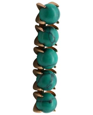 Maria rose gold and turquoise earring GINETTE NY