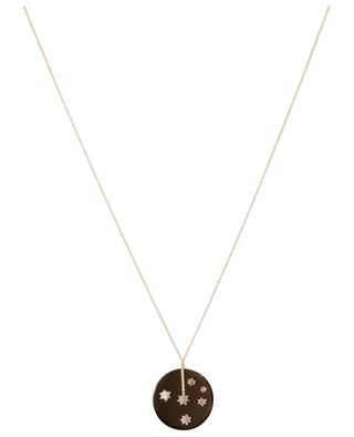 Milky Way rose gold necklace GINETTE NY