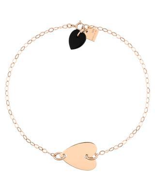 Armband aus Roségold und Onyx Angèle GINETTE NY