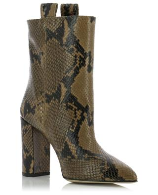 Pointy python embossed ankle boots 8 cm PARIS TEXAS