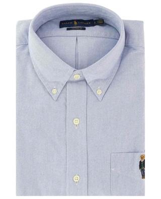 Hemd aus Chambray Custom Fit Polo Pear POLO RALPH LAUREN