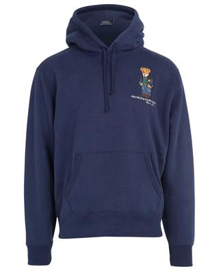 Cotton hoodie with bear embroidery POLO RALPH LAUREN