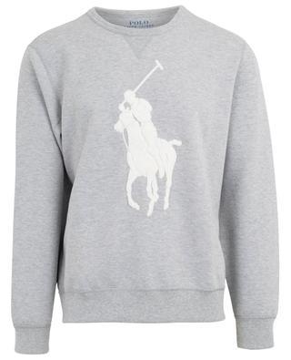 Sweat-shirt en coton mélangé avec logo poney POLO RALPH LAUREN
