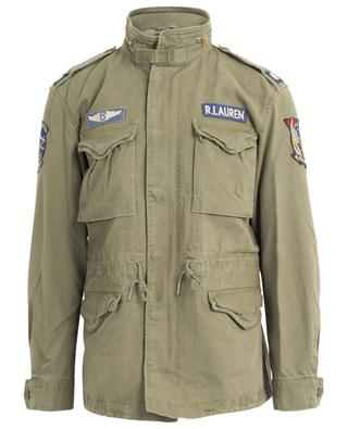 Combat chevron twill parka with patches POLO RALPH LAUREN