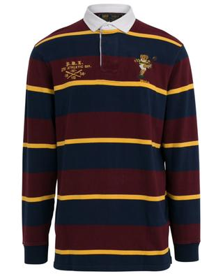 St Andrews Polo Bear embroidered long-sleeved polo shirt POLO RALPH LAUREN