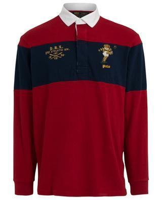 St Andrews polo bear embroidered long-sleeve polo shirt POLO RALPH LAUREN