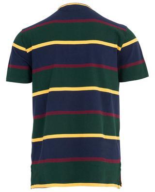 Piqué cotton polo shirt with bear embroidery POLO RALPH LAUREN