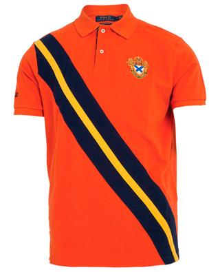 Piqué cotton polo shirt with embroidery POLO RALPH LAUREN