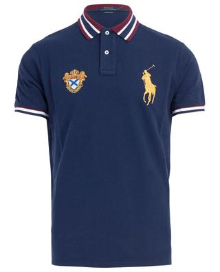 SSL patches embroidered cotton piqué polo shirt POLO RALPH LAUREN