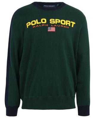 Polo Sport bicolour embroidered jumper POLO RALPH LAUREN