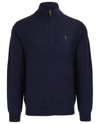 Merino wool jumper with stand-up collar POLO RALPH LAUREN