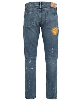 Ausgewaschene Slim-Fit Jeans mit Rissen und Aufnähern Sullivan POLO RALPH LAUREN