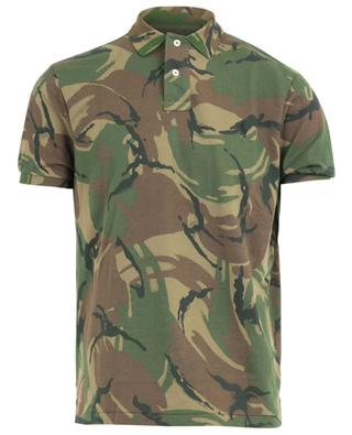 Camo pattern cotton polo shirt POLO RALPH LAUREN