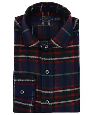 Custom Fit Holiday checked flannel shirt POLO RALPH LAUREN