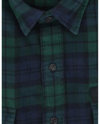 Chemise à carreaux brodée en flanelle St Andrews Military GI POLO RALPH LAUREN