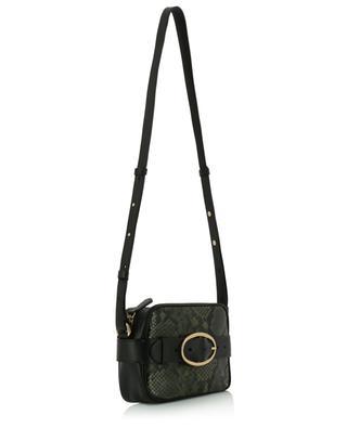 Mini Iris python effect leather shoulder and belt bag VANESSA BRUNO