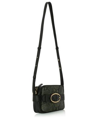 Mini Iris python effect leather shoulder and belt bag VANESSA BRUNO