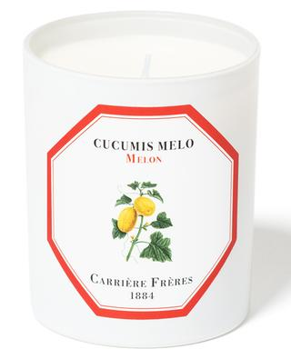 Melon scented candle CARRIERE FRERES