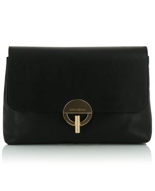 Moon smooth leather shoulder bag VANESSA BRUNO