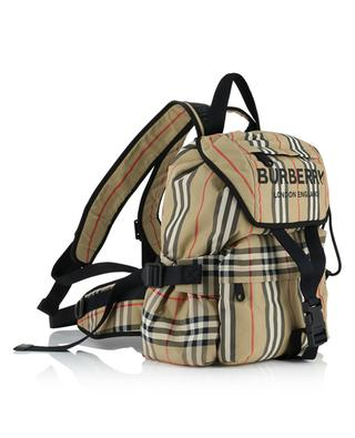 Wilfin Small Vintage Check fabric backpack BURBERRY