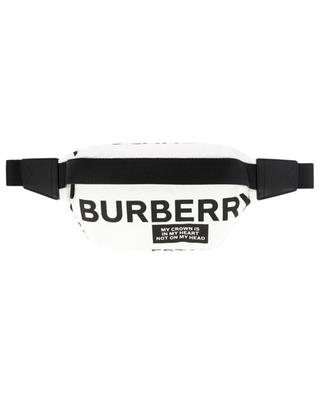 Sonny nylon belt bag with slogan print BURBERRY