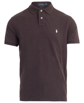 Logo adorned piqué cotton polo shirt POLO RALPH LAUREN