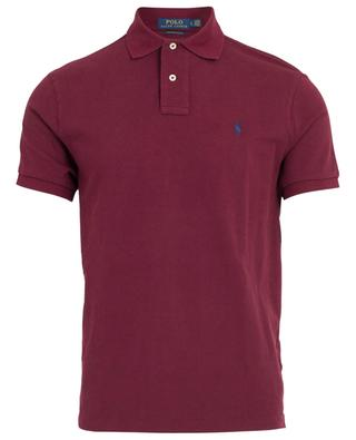 Logo adorned piqué cotton polo shirt POLO RALPH LAUREN