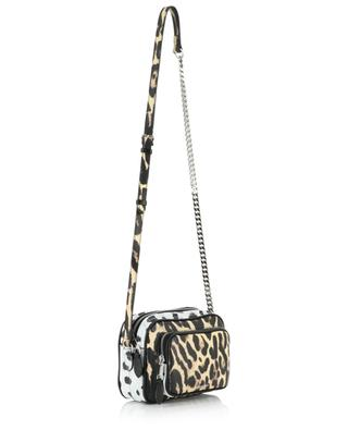 Camera Small animal print shoulder bag BURBERRY