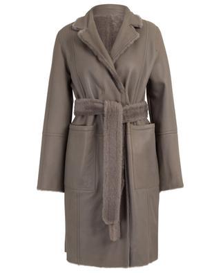 Roc reversible shearling coat YVES SALOMON