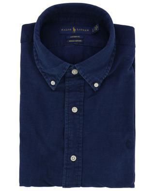 Indigo-gefärbtes Oxford Hemd Custom Fit POLO RALPH LAUREN