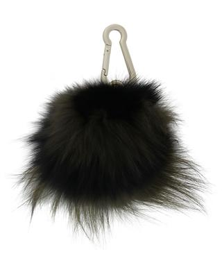 Pompon keyring with fox fur YVES SALOMON