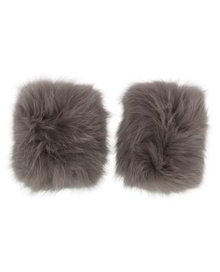 Fox fur wrist bands YVES SALOMON
