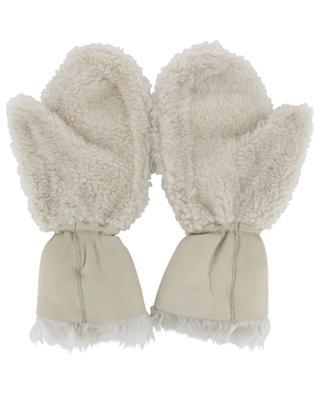 Merino shearling mittens YVES SALOMON