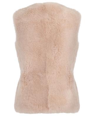 Gilet réversible en peau lainée YVES SALOMON