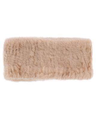Mink fur headband YVES SALOMON