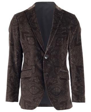 Paisley print velvet blazer ETRO