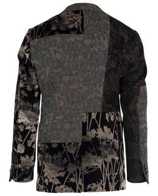 Velvet and jacquard blazer ETRO