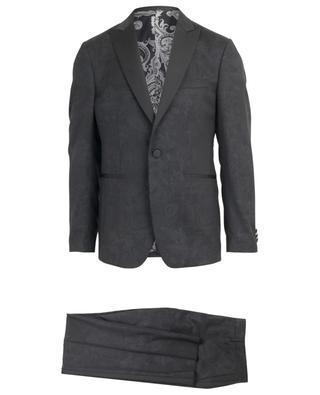 Floral wool jacquard dinner suit ETRO