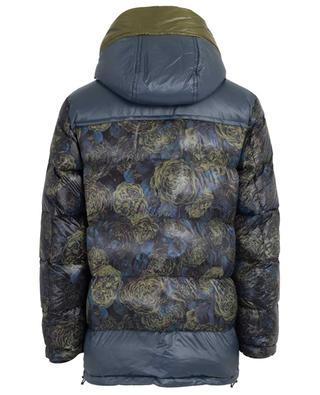 Floral printed hooded down jacket ETRO