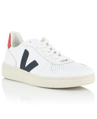 V10 perforated leather sneakers VEJA