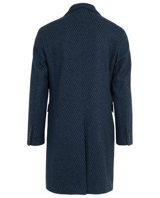 Mantel aus Wollmix mit Hahnentrittmuster ETRO