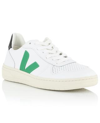 Sneakers aus perforiertem Leder V10 VEJA