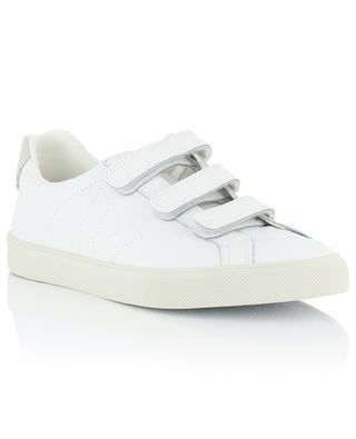 Sneakers aus Leder mit Kletteverschluss 3-Lock VEJA